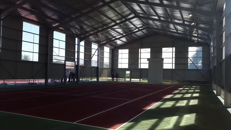 TLM Architecture - réalisation - couverture tennis