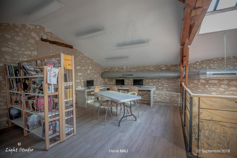 TLM Architecture - réalisation - Médiathèque